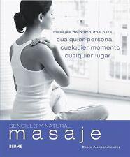 Masaje: Masajes de 5 minutos para cualquier persona, cualquier momento-ExLibrary