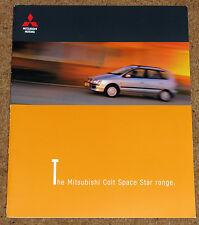 1999 MITSUBISHI SPACE STAR Large Format Sales Brochure