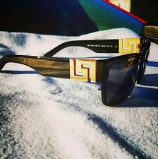 Versace shades...NIB!! Shiny black&Gold!! Greek Key...mod 4296...Biggie