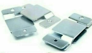Interlocking headboard Strong wall Brackets clips Heavy flush mount lift up duty