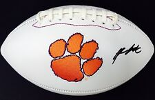 KELLY BRYANT #2 SIGNED CLEMSON TIGERS LOGO FOOTBALL w/COA ALL IN!