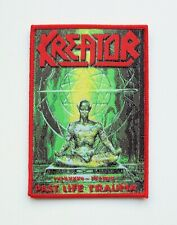 KREATOR [red] --- Woven Patch / Destruction Sodom Morbid Saint Protector