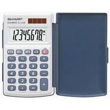 Sharp Calculatrice El-243 S fonctionnement Solaire/bat