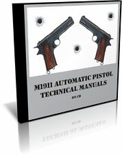 M1911 Vintage Technical Manuals on CD