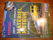**/ Rail Passion n°187 + DVD Aux commandes TGV Paris Lausanne En cabine BB25600