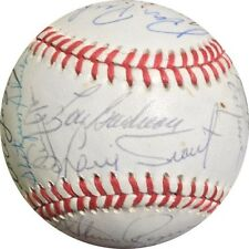 1988 Mets Old Timers Signed ONL Baseball  gary Carter robinson Boudreau 24 auto