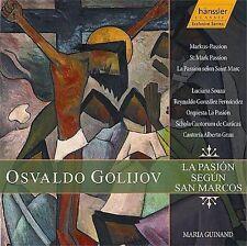 Golijov: La Pasion Segun San Marcos (St. Mark Passion), , Good