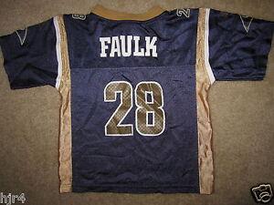 Marshall Faulk #28 St. Louis Rams NFL Adidas Jersey Toddler 2T