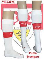V S B Stuttgart Socks UK 9-11;US 10-12; Euro 43-46; Adults; Adults Wht/Red.