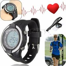 Wireless Heart Rate Monitor Sport Fitness Exercise Watch Alarm +Chest Strap Belt