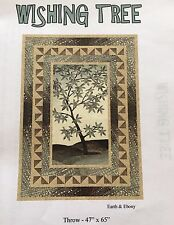 QUILT TOP KIT~The Wishing Tree by Wanda's Designs~Earth & Ebony~Northcott fabric