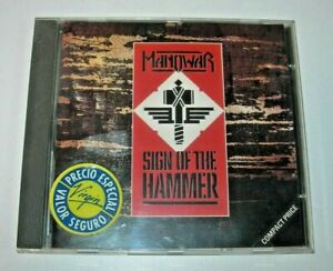 Manowar: Sign of the Hammer CD 10 Records 1984