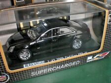 Luxury Collectables - 2009 Cadillac CTS-V black - 1:43 Made in China #100457