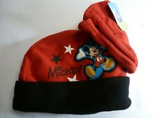 Mickey Mouse Cap and Mittens