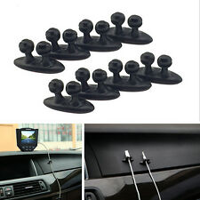 8x Car Phone Charger Wire Cord Cable Tidy Holder Drop Clips Organizer Line Fixer