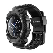For Galaxy Watch 3 [45mm] Unicorn Beetle Pro Wristband Rugged Case (Black)