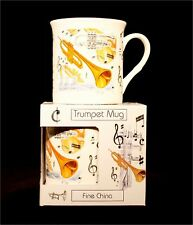 Fine China Mug - Trumpet Design Kitchenware Kitchenware
