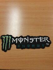 patch thermocollant brodé monster energy L 14cm H4,5cm
