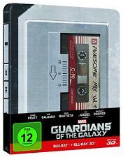 Guardians of the Galaxy -- STEELBOOK -- Blu-ray + Blu-ray 3D - 2 Discs -- OOP