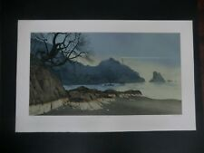 """Mel Hunter 1978 """"The Light At Emerald Point"""" Signed/Numbered Lithograph"""