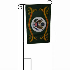 "12x18 12""x18"" Army Retired Serving Sleeved w/ Garden Stand Flag"