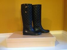Michael Kors Womens Lizzie Quilted Tall Pull On Boots Size 6M