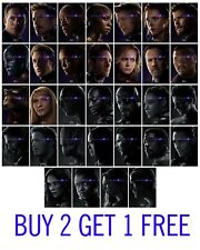 Avengers Marvel Endgame Poster Print Wall Art Characters A3 A2 Movie Films
