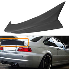 For BMW E46 M3 Coupe 1999-2005 CSL Style REAR Trunk Spoiler Ducktail Wing Lip