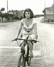 Irina Demick on Bike Fantastic BW 10x8 Photo