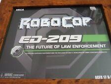 Enmarcado Original Robocop ed-209 futuro la ley escenas de Caja Neca