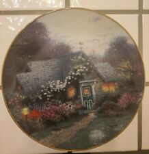 """""""Weathervane Cottage"""" Plates by Thomas Kinkade 1993 plate No. 2300 A Pre-owned"""