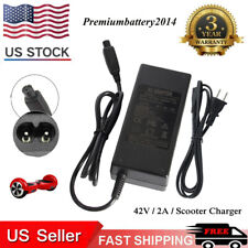 42V 2A CE Approved Charger For Xiaomi/Swegway/Hoverboard Balance Board + US Plug