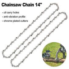 """2pcs Chainsaw Chain 14 """"Convient pour HUSQVARNA 135 235 236 Scie à chaîne"""