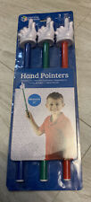 Learning Resources Hand Pointers, Set Of 3 - Skill Learning: Social Skills,