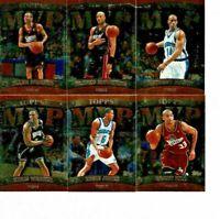 1999-00 Topps Basketball MVP Promotion Exchange Complete 22-Card Set