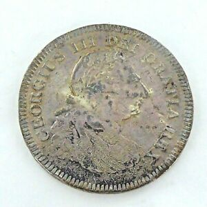 UNUSUAL SILVER GEORGE III,FIVE SHILLING/DOLLAR COIN, DATED  1804.