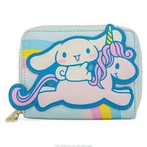 Loungefly Sanrio Hello Kitty Cinnamoroll Unicorn Faux Leather Ziparound Wallet