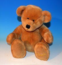 "Harrods 11"" Teddy Bear Puppet Plush - Harrods of London Light Brown Hand Puppet"
