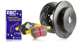 EBC Front BSD Discs & Yellowstuff Pads Ford Mondeo Mk4 2.0 TD 140HP 07>14