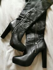 Reiss Thigh High Boots size 40/7 (small)