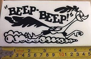 Car Window Decal - Road Runner, Beep-Beep!Vinyl Sticker  - Van, laptop