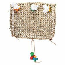 "LM Penn Plax Bird Life Natural Weave Bird Cage Climbing Exerciser 14"" Long x 14"""