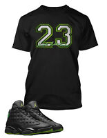 23 Graphic T shirt To match Air Jordan 13 High Altitude shoe Men's Tee Shirt