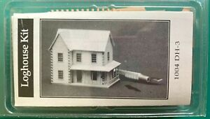 North Eastern Scale Models 1/144th scale   Log House  Kit 1004 (DH-3)