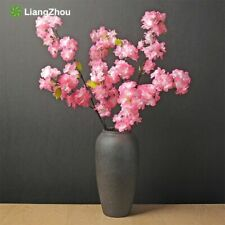 Cherry Blossom Tree 1pcs Artificial Flowers Wedding Decoration For Home 120cm