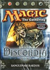 MTG MAGIC Discordia Mazzo Sanguinari Rakdos ITALIANO NEW MINT