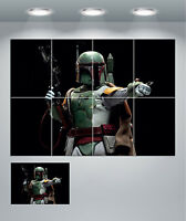 Boba Fett Star Wars Giant Wall Art Poster Print