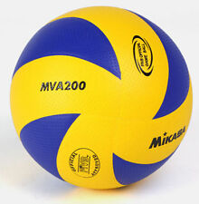Mikasa 200 Volleyball For Indoor Olympic Game Official Ball Size 5 Blue/Yellow
