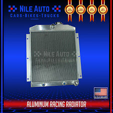 3 ROW RACING ALUMINUM RADIATOR FOR 47-54 CHEVY 3100/3600/3800 TRUCK PICKUP l6