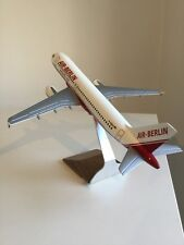 Air Berlin a320 1:100 pacmin avión modelo airberlin avión modelo